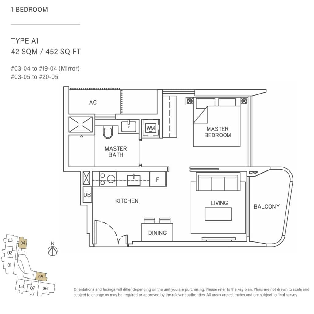 1-Bedroom-Type-A1