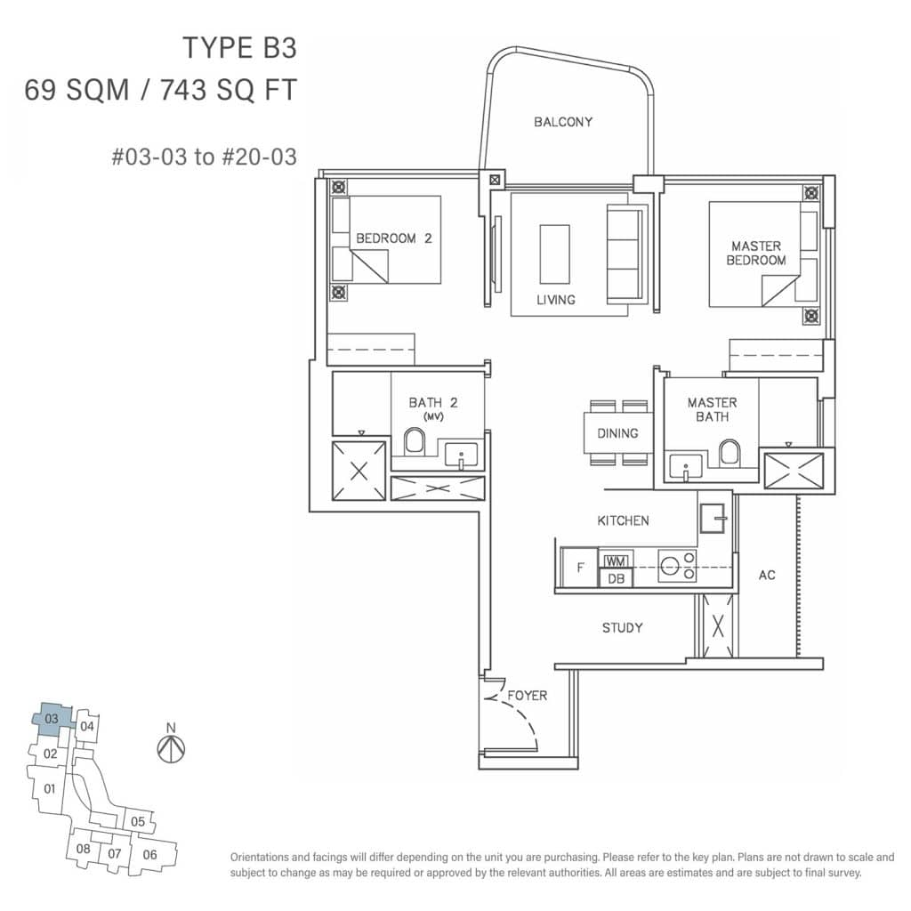 2-Bedroom-Type-B3-69-SQM